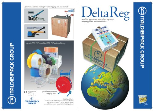 DELTAREG LINE: strapping systems