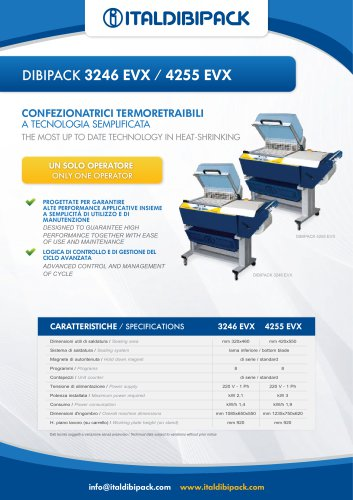 DIBIPACK 3246 EVX / 4255 EVX
