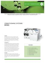 CONDITIONING SYSTEMS BCR 03