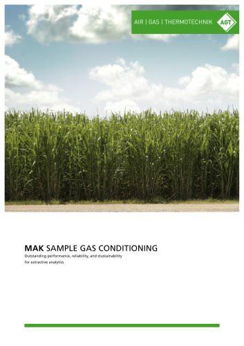 MAK Sample Gas Conditioning