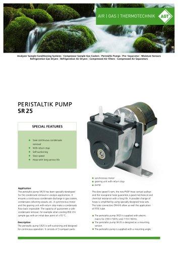 Peristaltik Pump SR25