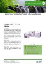 SAMPLE GAS COOLER MAK 6