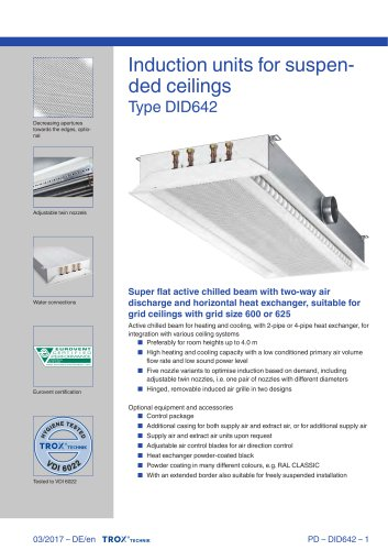 Ceiling Diffuser With Fire Damper | Shelly Lighting