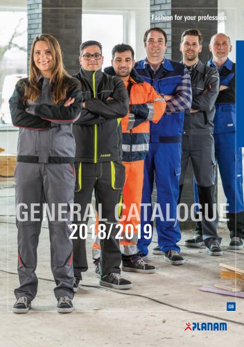 General catalogue 2018
