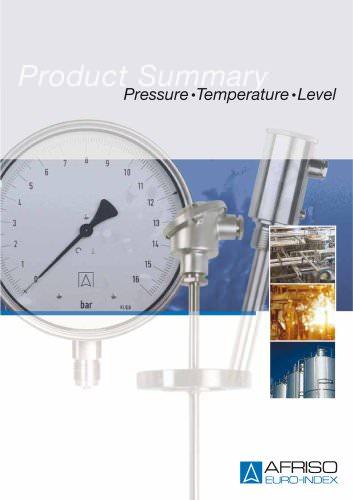 Pressure • Temperature • Level
