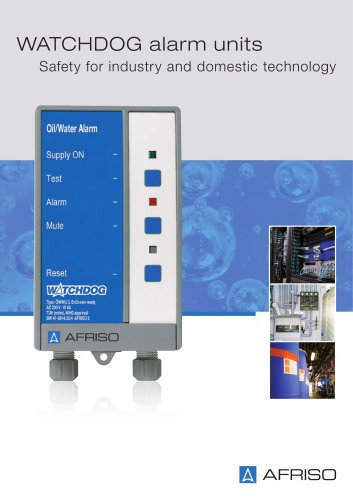 WATCHDOG alarm instruments for industry and building technology