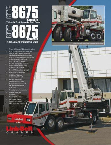 Link-Belt HTC-8675 II 75-ton (70.0 mt) Hydraulic Truck Crane