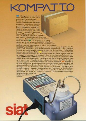 Kompatto - The inkjat printer unit