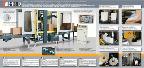 SM44 Full automatic carton sealers range