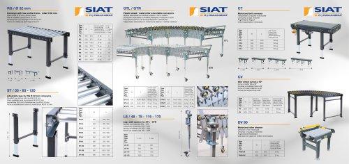 Standard conveyors range