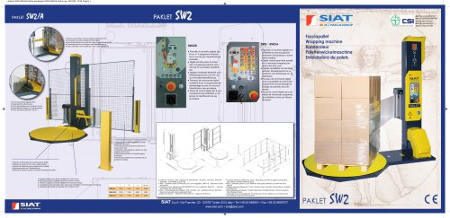 SW2 The rotatin turntable machines range