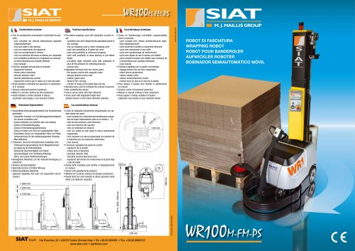 WR100 The wrapping robots range