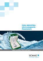 ISOMAG Magnetic flowmeters