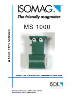 ISOMAG MS 1000