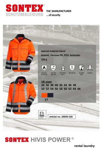Data Sheet Hivis Power 20050