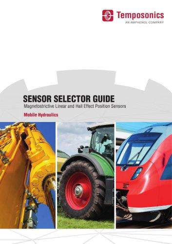 Temposonics Sensor Selector Guide Mobile Hydraulics