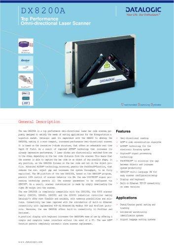 DX8200 Omnidirectional Laser Scanner
