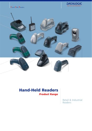 Hand Held Readers - Retail and Industrial Readers