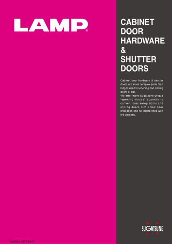 Cabinet Door Hardware & Shutter Doors