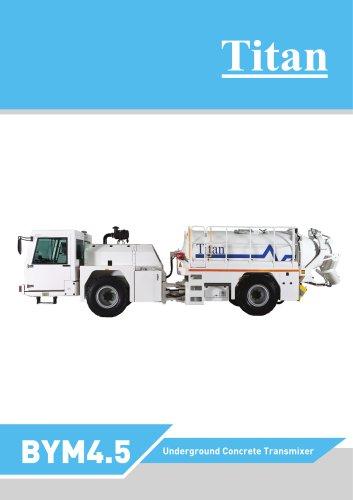 BYM4.5 Underground concrete transmixer
