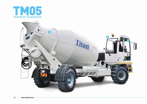 TM05 Concrete Transmixer