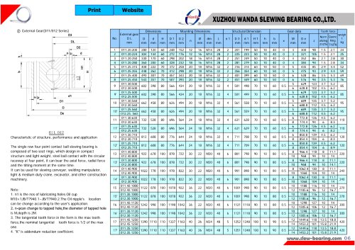 011 & 012 series slewing ring-1