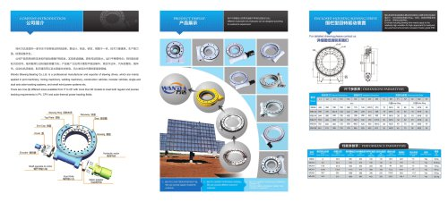 Slewing Drive Catalogue (WEA Series)