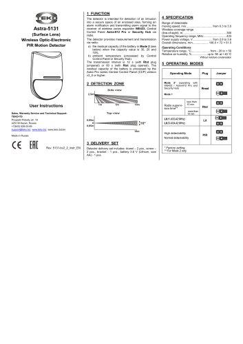 Astra-5131 ver.B Manual
