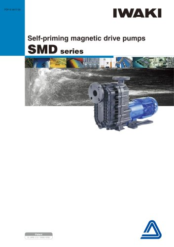 Serie SMD Self priming mag drive pumps