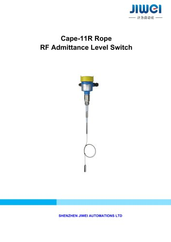 Cape-11R Rope RF Admittance Level Switch