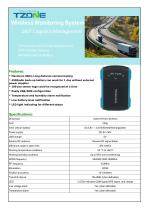 TZONE GPS TRACKER / WITH TEMPERATURE MEASUREMENT / WITH HUMIDITY MEASUREMENT AVL11