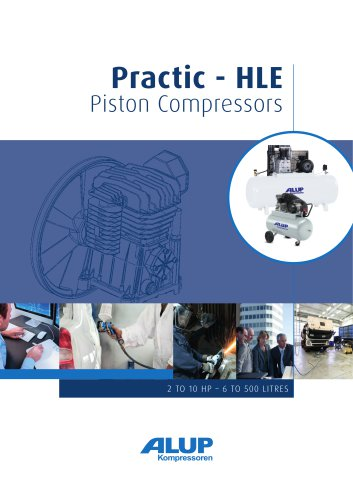 Practic - HLE Piston Compressors