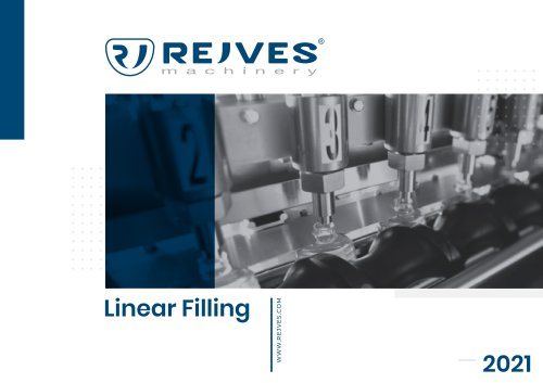 Linear Filling Machines - Catalogue 2021