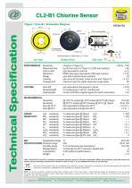 CL2-B1 Chlorine Sensor