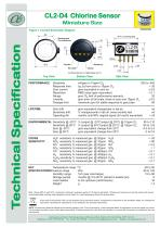 CL2-D4 Chlorine Sensor