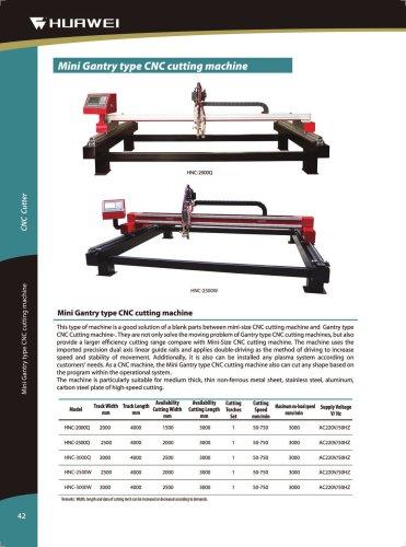 HNC-2500W Economical Light Gantry CNC Plasma & Oxy-Fuel Plate