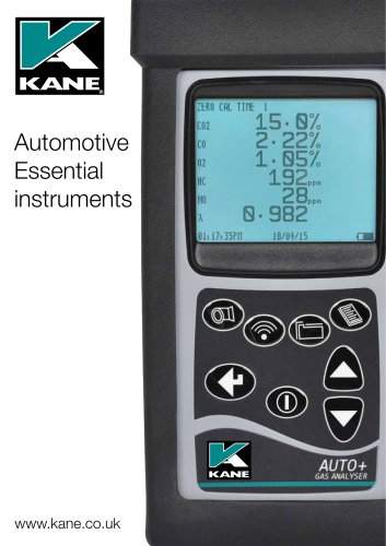 Automotive Essential instruments