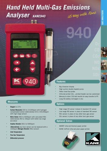 Combustion Analyser KANE940