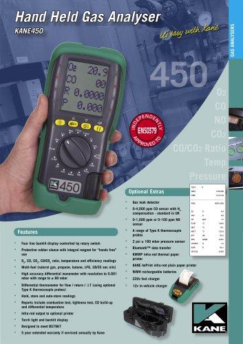 Commercial & Domestic Boiler Analyser KANE450
