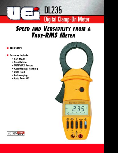 Digital Clamp-on Multimeter DL235