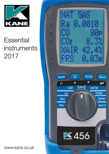 Essential instruments 2017
