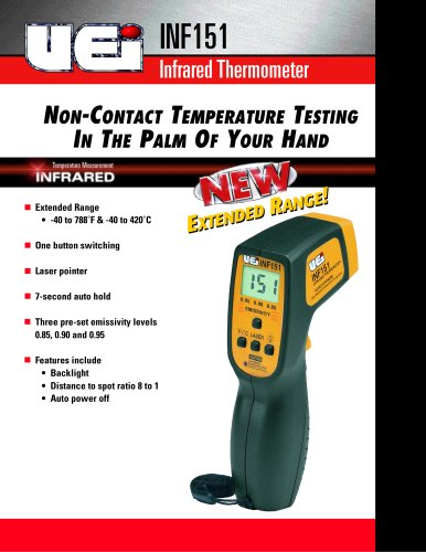 Infra-red Thermometer INF151