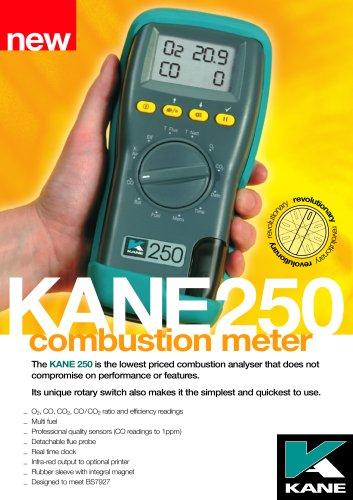 KANE250 Combustion Meter