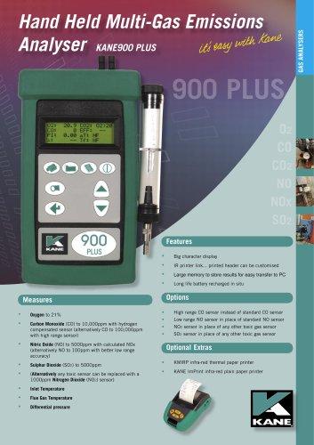 KANE900 PLUS Multi-Gas Emissions Analyser