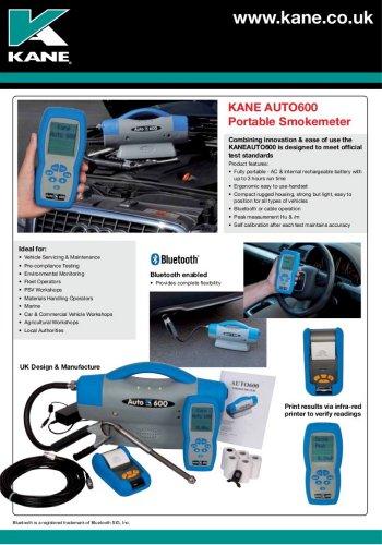 Portable Diesel Smokemeter AUTO600