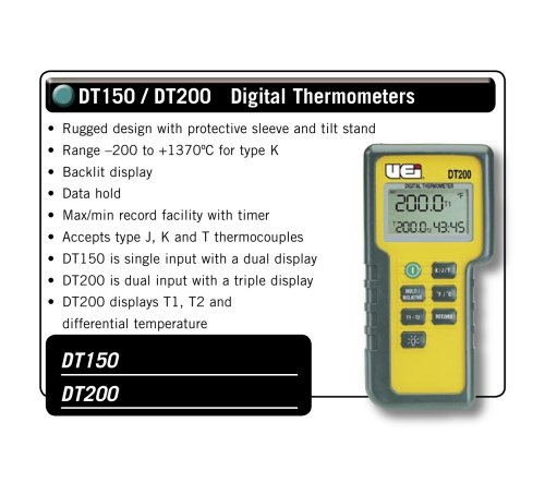 Single Input Digital Thermometer DT150