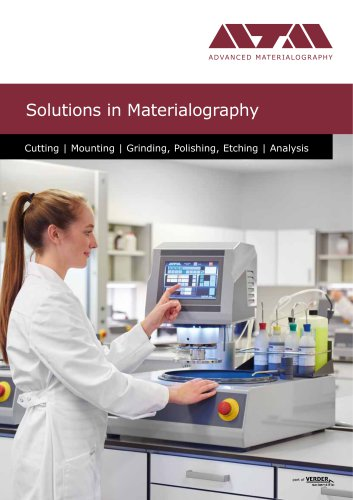 Solutions for Materialography