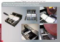 Special Solutions for Cutting – clamping tools and additional features for Brillant - 14