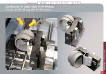 Special Solutions for Cutting – clamping tools and additional features for Brillant - 15