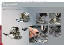 Special Solutions for Cutting – clamping tools and additional features for Brillant - 18